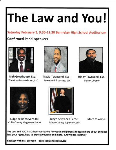 The Law and You panelists