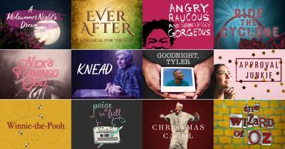 Alliance Theatre 2018-19 season graphic