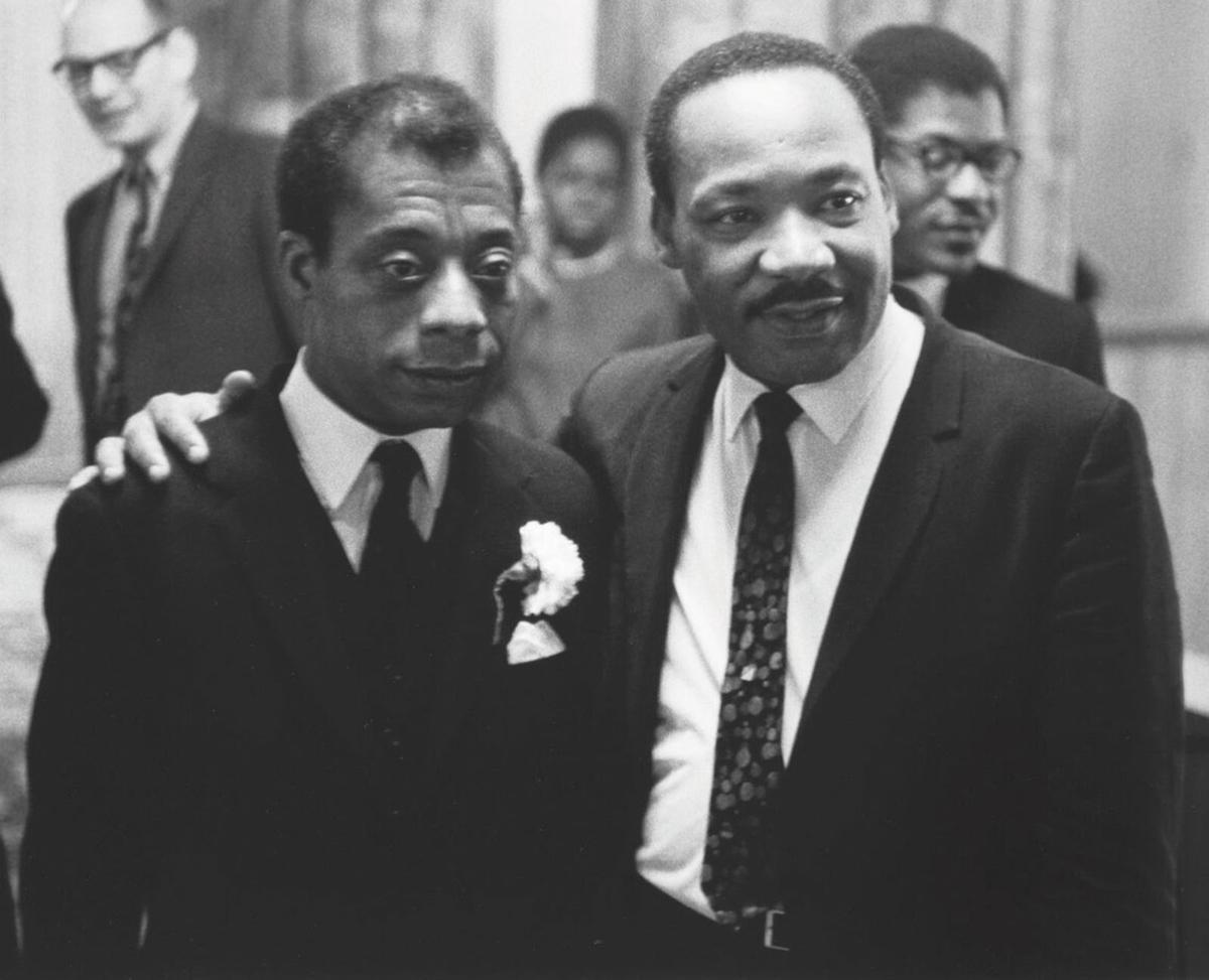 High Civil Rights 3 Martin Luther King. Jr. James Baldwin