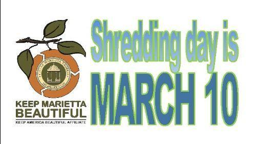 Keep Marietta Beautiful to hold shredding event on March 10