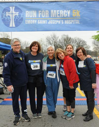 032019_MNS_Run_for_Mercy Andy Park Doris Adler Shahida Rashid Sandy Park Colleen Roland Wendy Smith