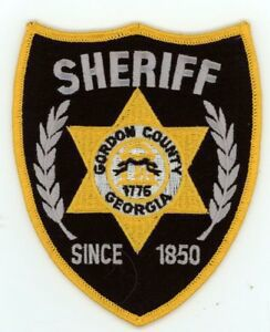 Gordon County Sheriff's Office logo