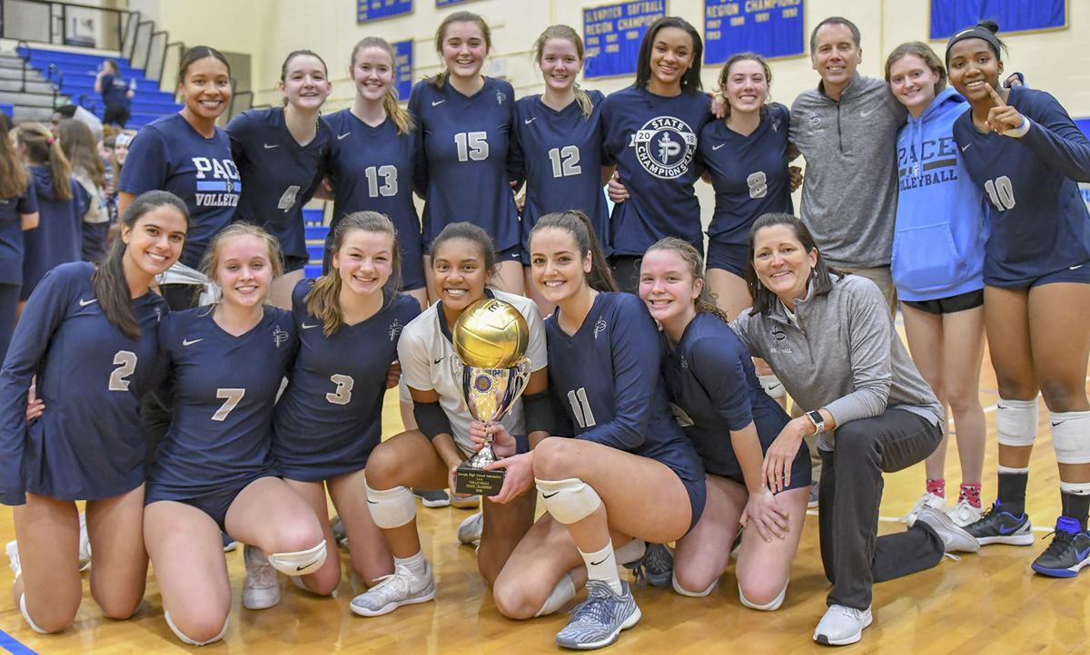 Pace Westminster AIS earn volleyball cross country state
