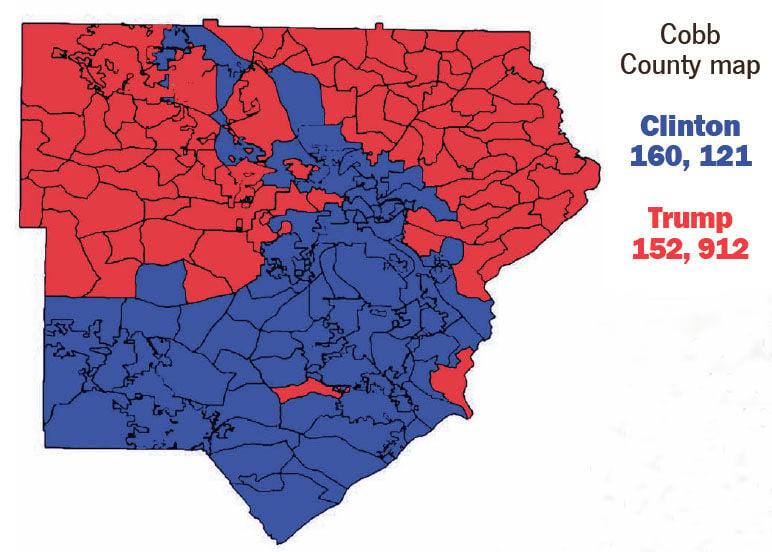 Voting Results Certified News Mdjonlinecom - Georgia voting map