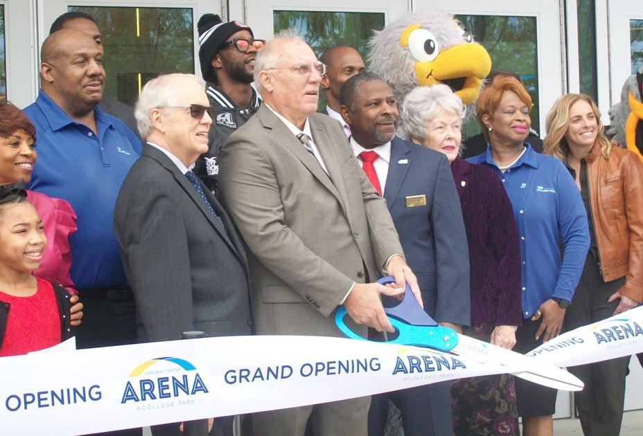 The Gateway Center Arena has officially opened in College Park
