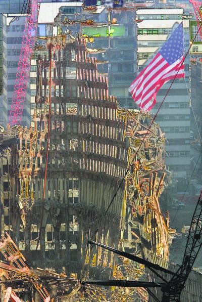 9/11 flag travels around the U.S.