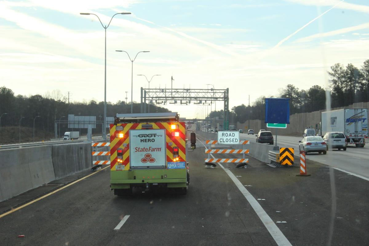 I-75 South Metro Express Lanes ramped up for Saturday debut