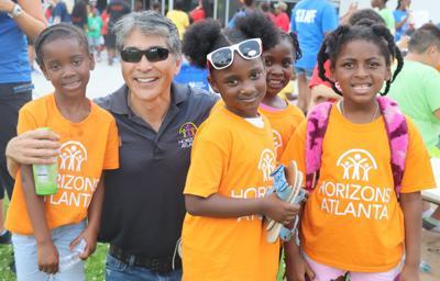 061919_MNS_Horizons_Atlanta_001 Alex Wan with students