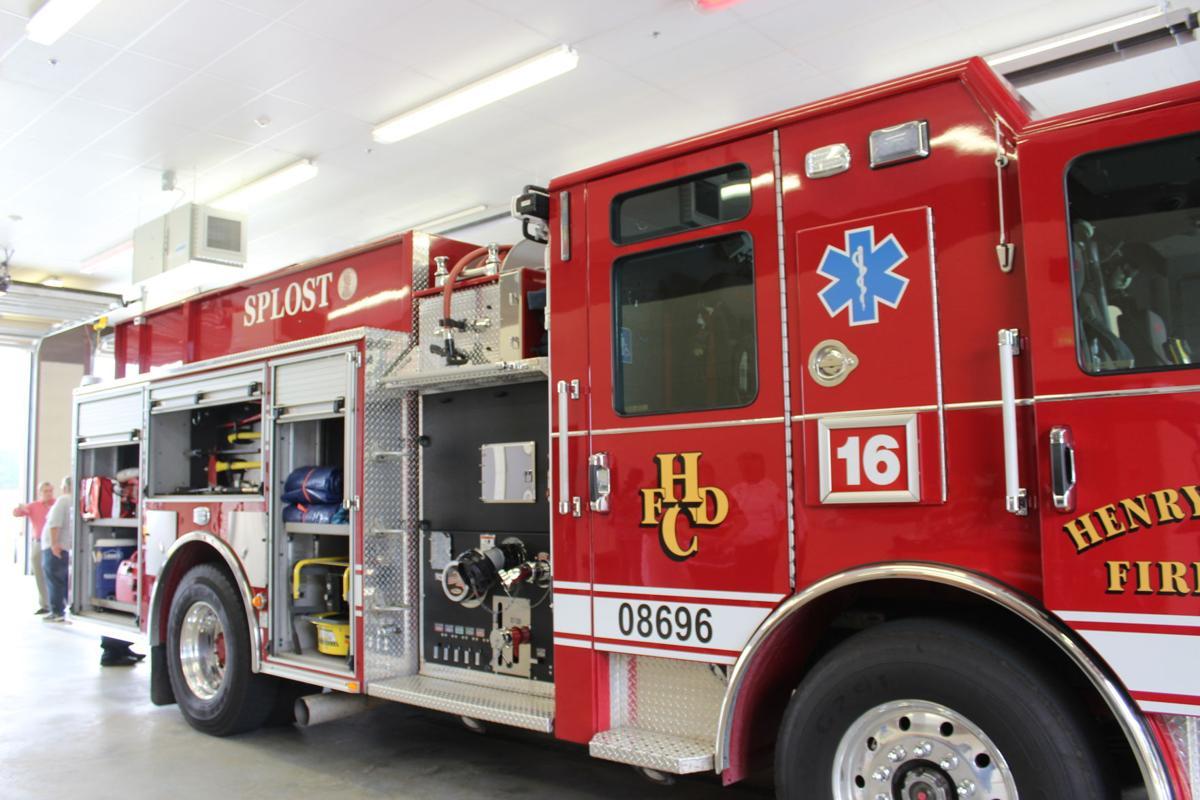 Fire Station No. 16  fire truck