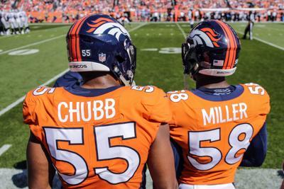 Broncos Miller Chubb Football