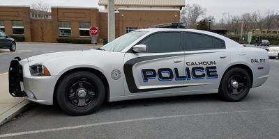 Calhoun police car