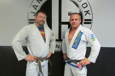Students learn jiu-jitsu fundamentals at Tekniques   West