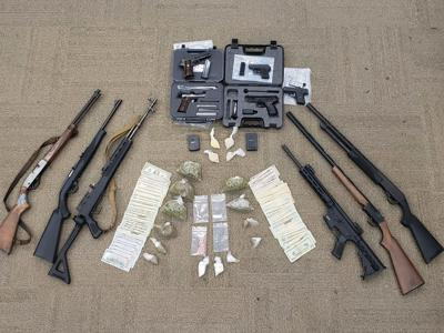 Rome Floyd Metro Task Force makes large drug, firearms bust stemming from jail phone call