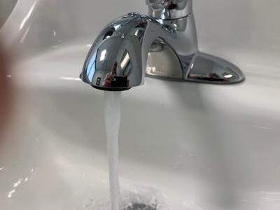Faucet for Boil Water advistory