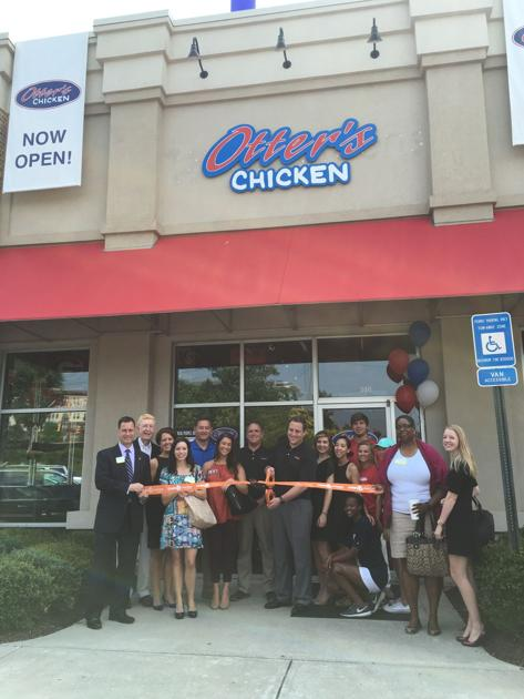 Otters Chicken Celebrates Ribbon Cutting Ceremony Cobb Business
