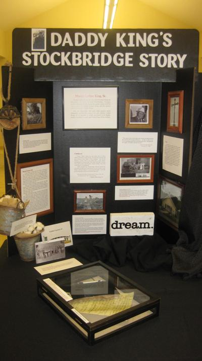 Martin Luther King Sr. display 02