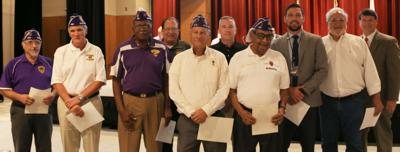 081419_MNS_Sandy_council Rusty Paul with Purple Heart recipients