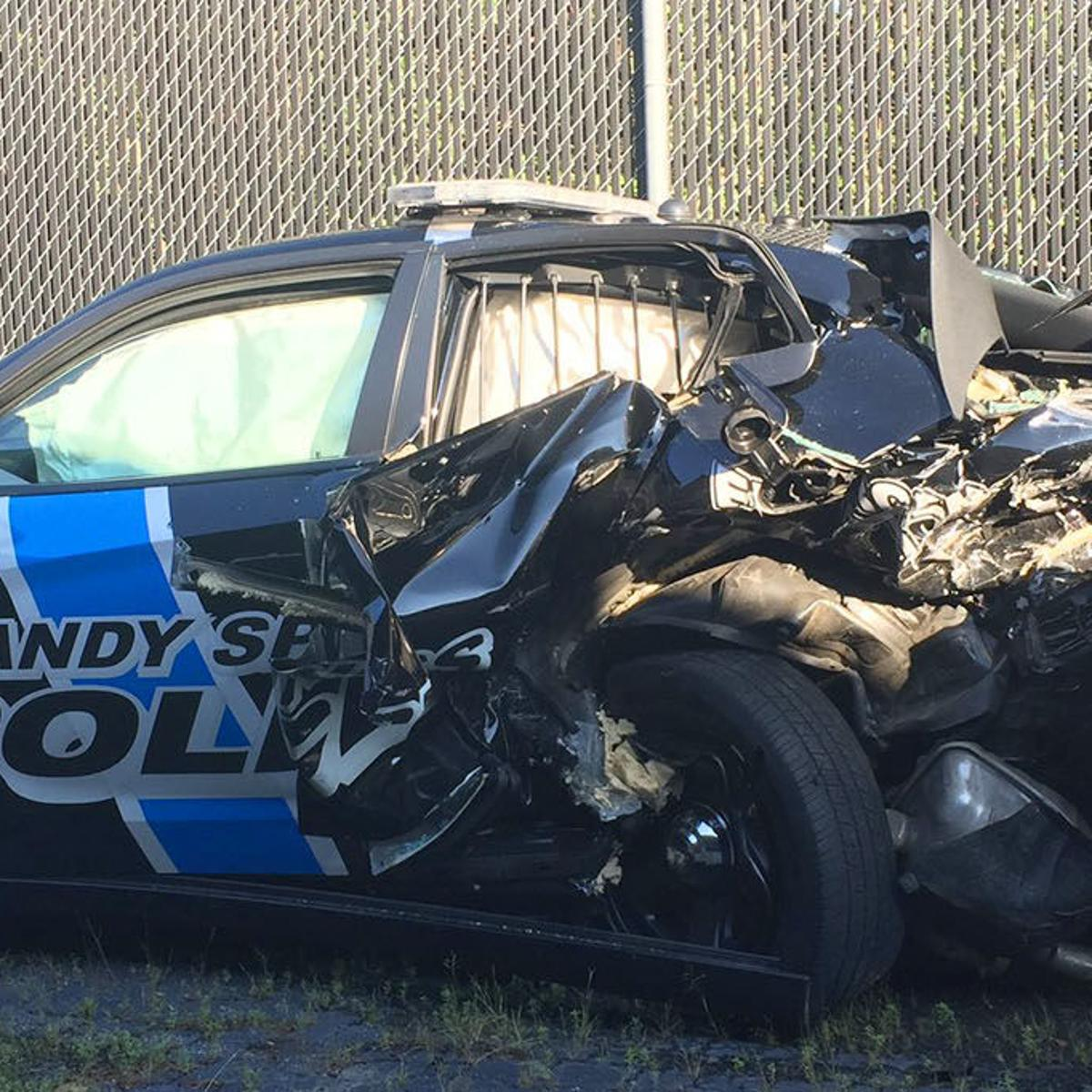 Police: Drunk Douglasville driver hits Sandy Springs cop car