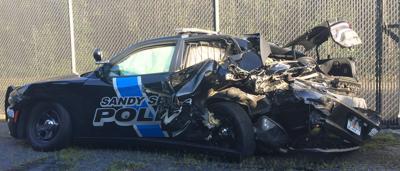 Sandy DUI Sandy Springs Police Department cruiser