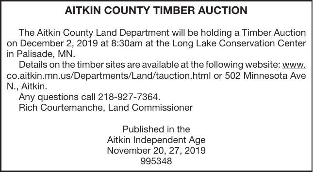Timber Auction