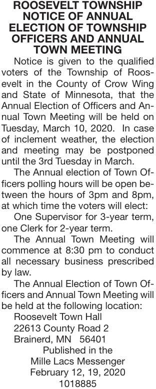 Annual Meeting & Election