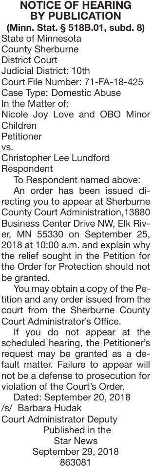Love vs Lundford