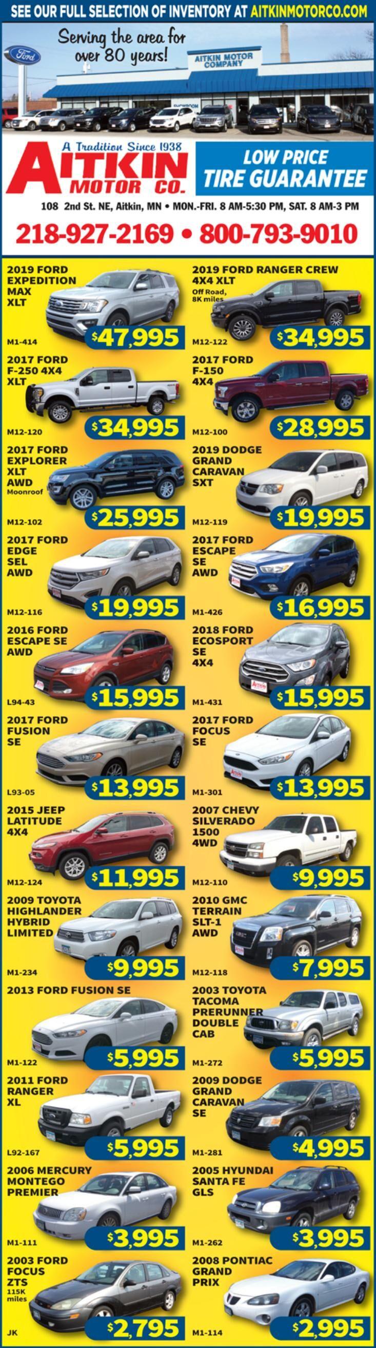 Aitkin Motors 090520