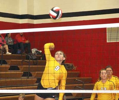 OHS Volleyball - Ashley Rogers