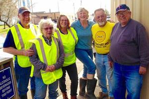 Isle Lions ditch cleanup
