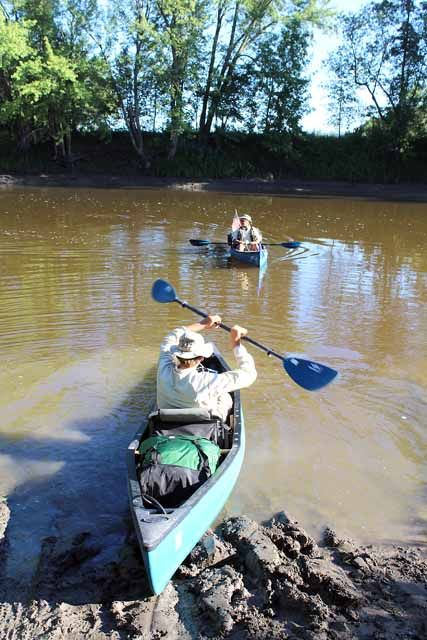 On Aug. 11, Shawn Murphy and Annie Balthazar left Aitkin to resume their jouney with Warrior Paddle.