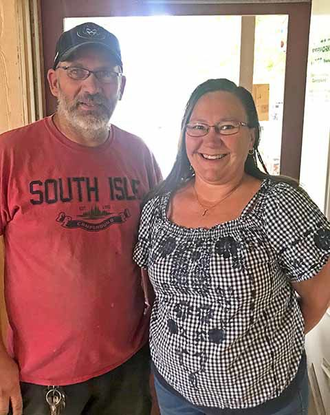 South Isle Campground - Bryan Heise and Kim Ames