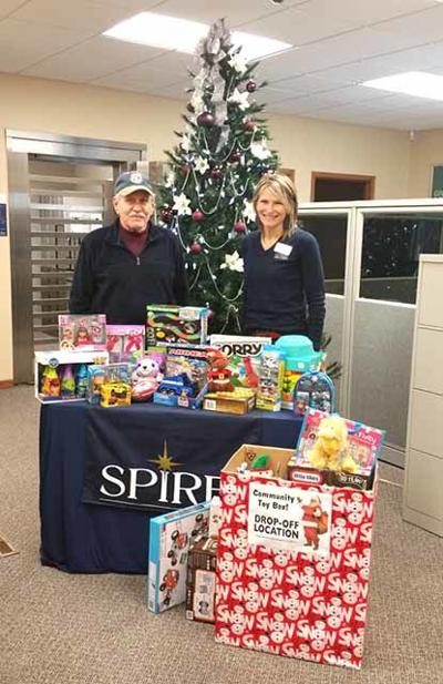 SPIRE toy drive