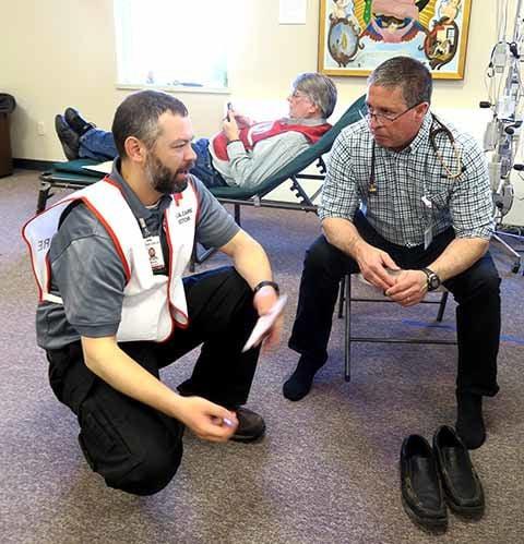 MLHS disaster training