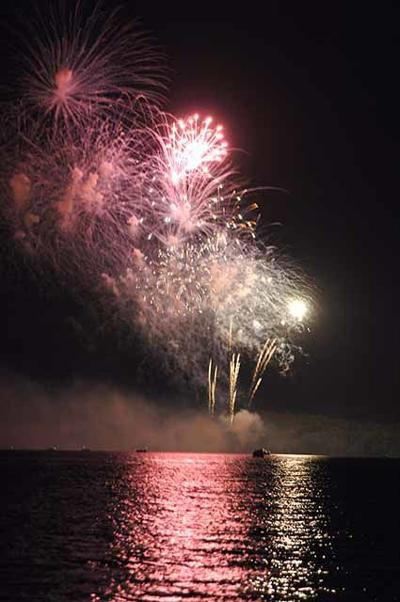 July 4th - Garrison fireworks