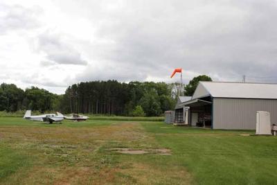 Isle Airport - field