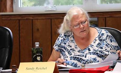 Wahkon Mayor Sandy Reichel