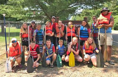 Grindstone Lake Bible Camp holding their annual Wilderness Camp last summer.