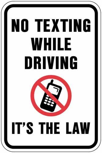 Sending a text message distracts a driver for 4.5 seconds.