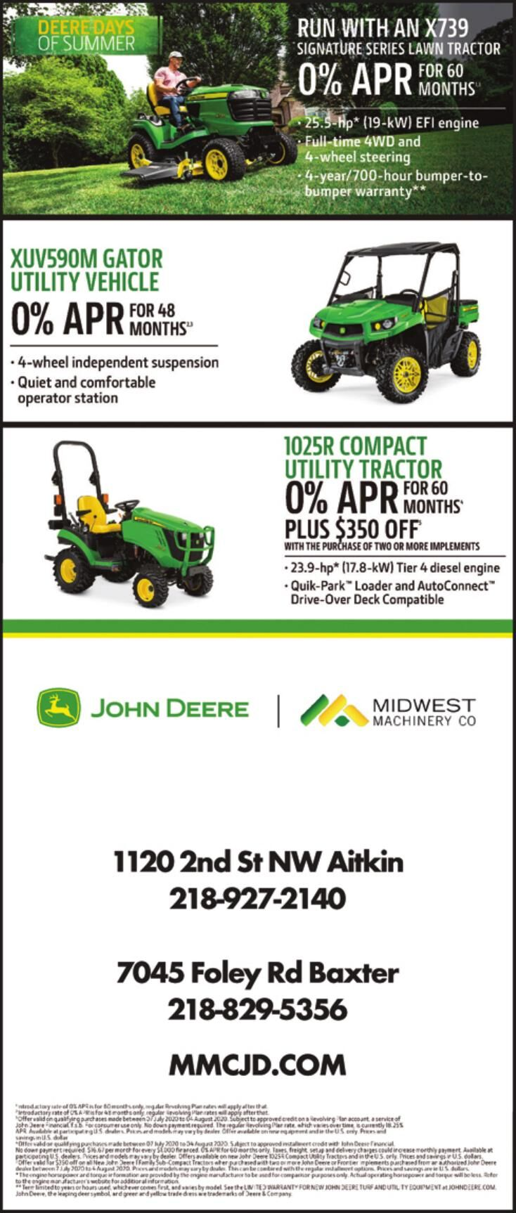 Midwest Machinery 080120