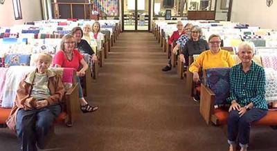 Women at Shepherd of the Lake Lutheran Church