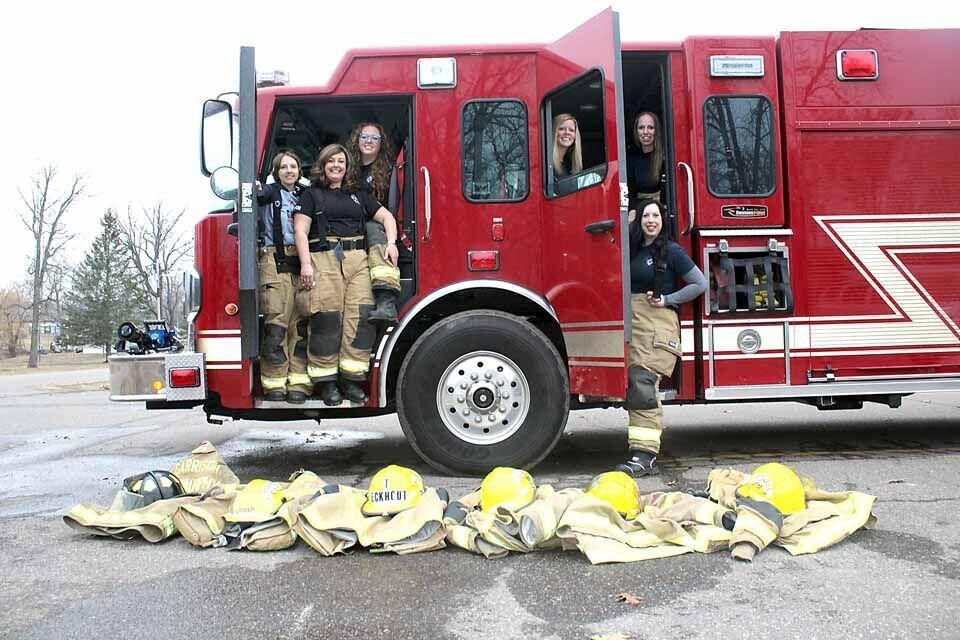 Women of the Garrison Fire Department