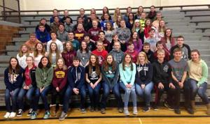 Kerry Hopperstad's eighth-grade math students participate annually in a fundraiser for St. Jude Children's Research Hospital.