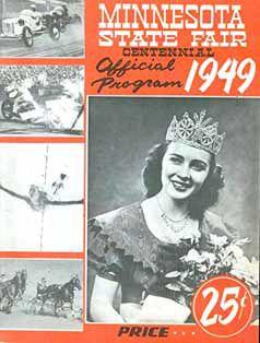 The Minnesota State Fair program cover for 1949.