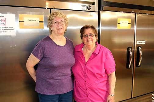 Laura Smith became the new Community Food Shelf director Aug. 1 for retiring director Ruth Nelson.