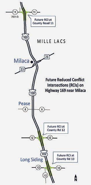 Milaca Reduced Conflict Intersection