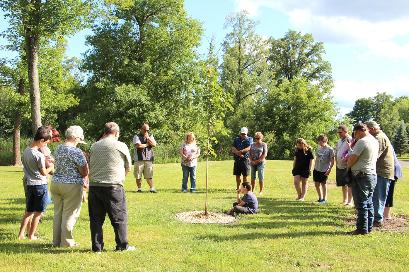 Tree-planting memorial events