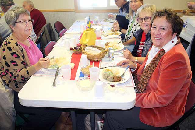 Holden Lutheran Lutefisk Dinner - Scandinavian dining