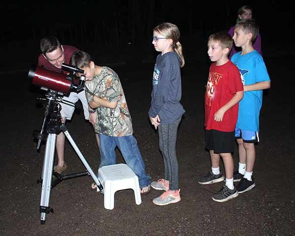 Star watching at Father Hennepin State Park