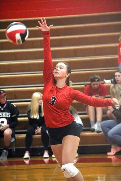IHS Volleyball - Carly Gallion