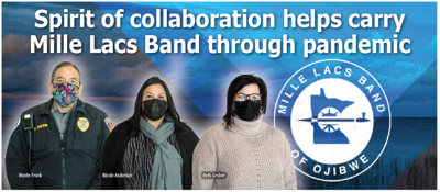 Spirit of collaboration helps carry Mille Lacs Band through pandemic